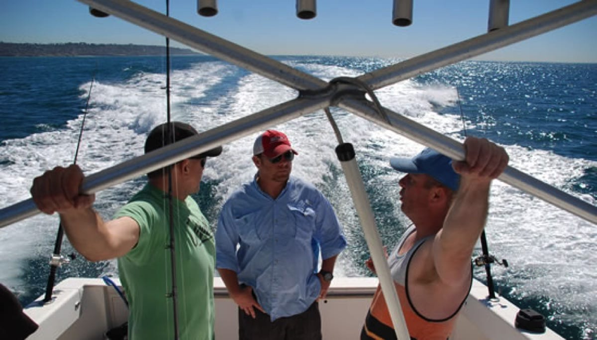 Sail san diego sailing whale watching fishing charters for Fishing license san diego