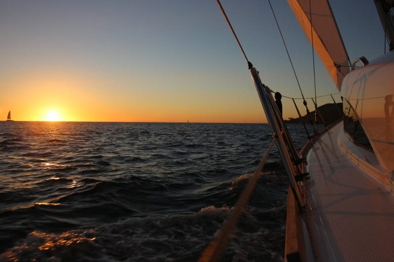 Sail San Diego Sunset