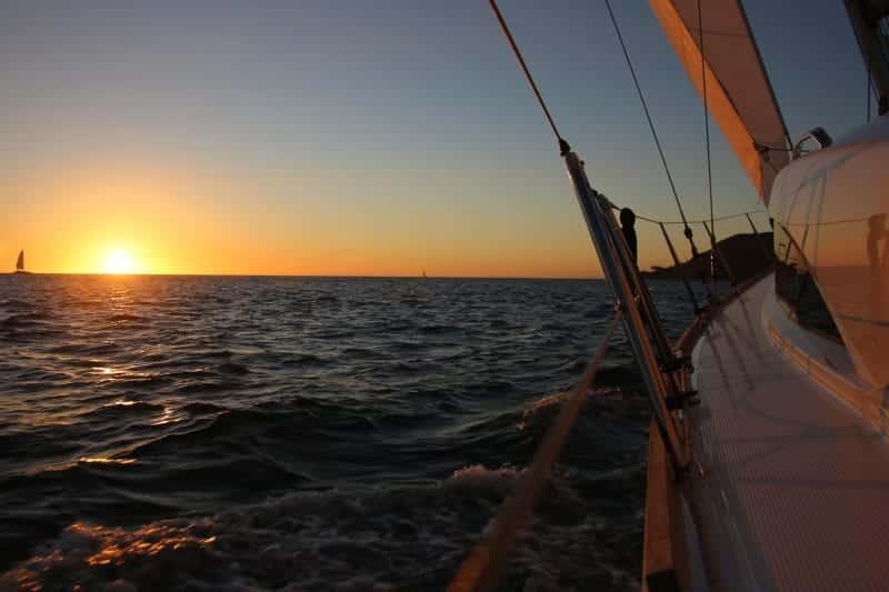 Sail San Diego Sunset