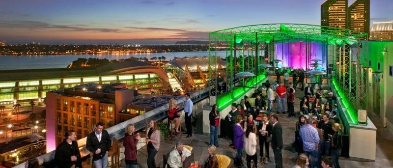 altitude sky lounge marriott san diego rooftop bar