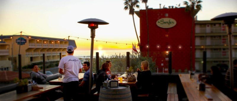 amplified ale works rooftop bar in san diego