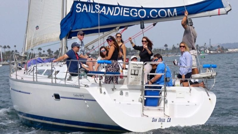 private sail in san diego