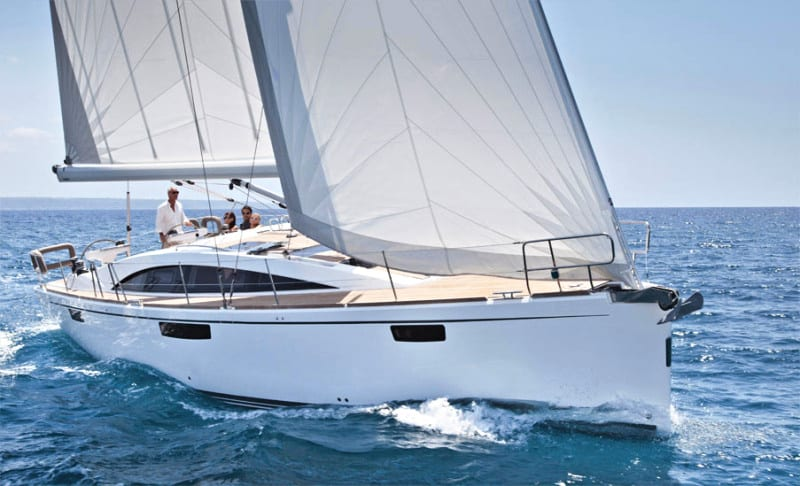 san diego sailing tour yacht on the water