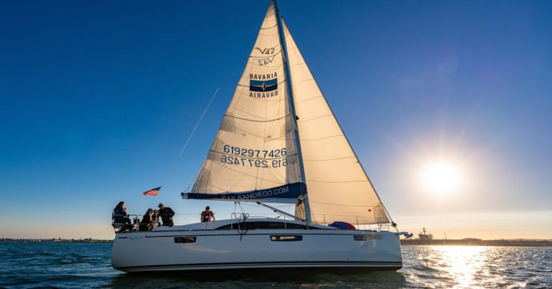 san diego sunset sail tour